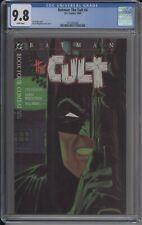 Batman The Cult 4 Dc Comics CGC 9.8 White Pages (1988)