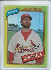 2012 Topps Archives Jason Motte Gold Foil Rainbow #114 St Louis Cardinals