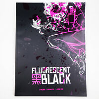 FLUORESCENT BLACK - SIGNED GRAPHIC NOVEL Post Apocalypitc Comic Book NATHAN FOX