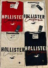 NEW Men's HCO Hollister Applique Logo Graphic T Shirt Short Sleeve Tee M L XL