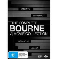 BOURNE QUADRILOGY Complete 4 Movie Collection : NEW DVD