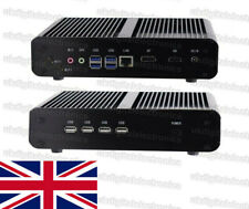 Silent Fanless Quiet Mini PC HTPC Computer Intel i7 10510U 16G RAM/512G SSD, UK