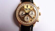 BELUS Wakmann triple date vintage chronograph Valjoux 730 oversize