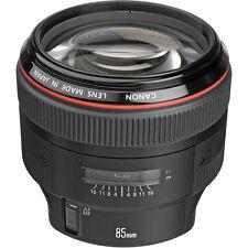 Canon EF 85mm f/1.2L II USM Lens Brand New With Shop Agsbeagle