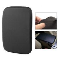 Center Console Armrest Cushion Pad Cover Mat Auto Car Universal Carbon Fiber