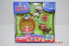 Littlest Pet Shop Portable Pets Gift Set #209 & #5 -- Bobblin' Heads - VHTF- NIP