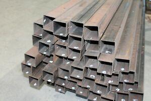 Quadratrohr Stahl roh 50x50x1,5mm Abverkauf - Sonderposten Vierkantrohr Metall
