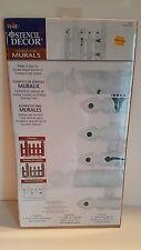 Plaid PICKET FENCE - PLAID STENCIL DECOR ELEMENTS FOR MURALS #26852