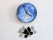 ET Swinging on the Moon - Pendulum Wall Clock