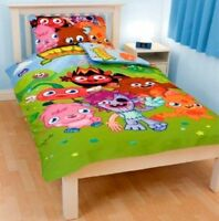 Official Moshi Monsters Single Panel Duvet Cover & Pillowcase Set