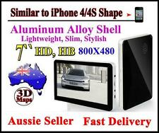 "Latest 2D/3D Map 7""GPS HD HB Car Navigation Smart HQ New iPhone 4/4S Slim Shape"