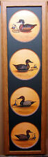 Wood Duck Green Winged Teal Canvasback Redhead Limited Edition Framed Duck Decoy