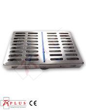 Esterilización Inoxidable Cassette Bandeja De Rack Para 10 Dental o instrumento Quirúrgico