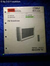 Sony Service Manual KV 28FC60 / 32FC60/Z (#2489)