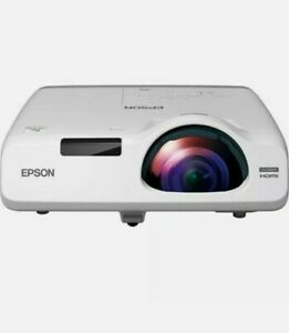 Epson PowerLite 535W Short Throw LCD Projector - 16:10 - White New in Box.