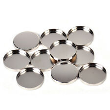 10 x Round Tin Pan Palette 26mm Empty Eyeshadow Palette Responsive to Magnets