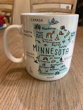 222 Fifth PTS international My Place Minnesota Map Mug 24oz