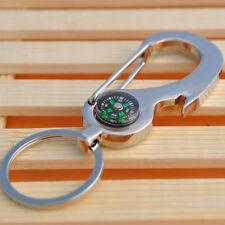 Creative Multifunction Compass Bottle Opener Key Chain Key Ring Keychain Gift