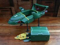 Thunderbirds Are Go Supersize Thunderbird 2 and 4 with Seats (D)