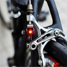 Bicycle Red LED Brake light Outdoor Water resistant Cycling Hiking Safe 1pc