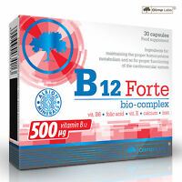 Vita-min B12 Forte 30-270 Caps Metabolism Enhancer 500µg per Capsule Weight Gain