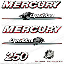Mercury 250hp Optimax Decal Kit Replacement Decals for Outboard Motors 2007-2012