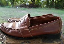 Cole Haan Douglas Penny Loafers Men's Brown Slip On Loafers Sz 9.5 01462