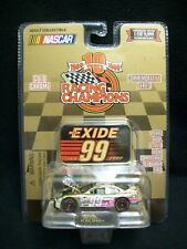 Racing Champions Gold Chrome Exide Jeff Burton 1:64 Scale Limited Edition.