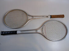 2 Tennis Racket Racquet Vintage Metal Aluminum Alloy  unbranded
