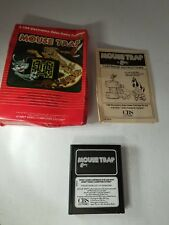 MOUSE TRAP CBS PAL VERSION CIB COMPLETE  GAME FOR ATARI 2600  ( NOT FOR USA) M18