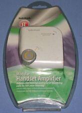 Radio Shack Telephone Handset Speaker Amplifier Hearing Aid 43-2232 * New