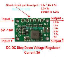 DC Buck Step-down Power Supply Converter 5v~16v 1.25v 1.5v 1.8v 2.5v 3.3v 5v 3A