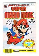ADVENTURES of the SUPER MARIO BROS. (VF-) VALIANT ( FREE SHIPPING) *