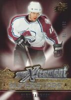 2005-06 SPx Xcitement Superstars Hockey Cards Pick From List