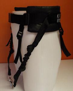 MMDOGGEAR Canicross/Run/ Walking Belt Fixed Shock Lines & removable leg strap