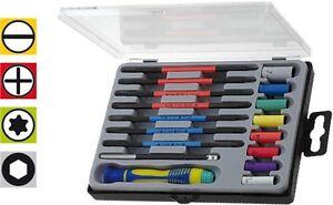 Precision 17 Piece Screwdriver Kit Mini Socket Set Micro Miniature Torx Allen