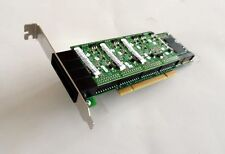 Digium 4 Port Analog PCI Asterisk Card with 4 FXS 0 FXO 1 EC 1A4A06F