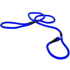 COASTAL PET BLUE BRAIDED CONTROL DOG SLIP LEAD 6 FOOT LEASH NYLON. FREE SHIP USA