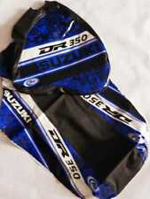 .KIT COVER BLUE SUZUKI DR350 DR 350 SEAT COVER & TANK COVER FAST SHIPPING
