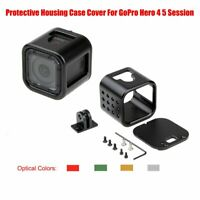 NEW CNC Aluminium Protective Housing Case Cover Frame For GoPro Hero 4 5 Session