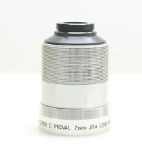 BELL & HOWELL 16mm Super D Proval Lens 2 Inch  f/1.4 Lens, 552-1552 Projectors