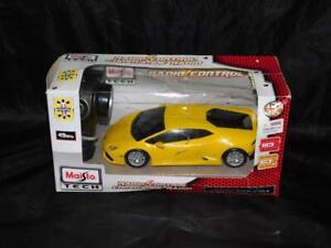 Maisto R/C Yellow Lamborghini Huracan LP 610-4 Radio Control Car 1:24 Scale