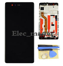 LCD Touch Screen Digitizer Display + Frame For Huawei P9 Standard EVA-L09 Black