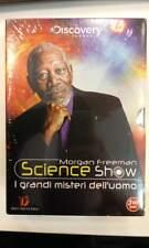 Morgan Freeman: Science Show -I Grandi Misteri Dell'Uomo (Cofanetto 3 Dvd) Nuovo