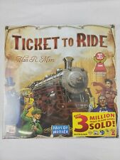 Days of Wonder Ticket To Ride by Alan R. Moon Train Adventure Board Game Sealed