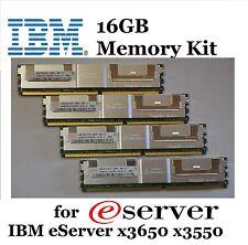 IBM 16GB (4X 4GB) PC2-5300F DDR2 4Rx8 RAM for eServer x3650 x3550