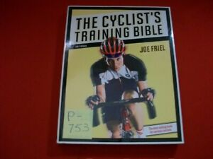 THE CYCLIST'S TRAINING BIBLE BY JOE FRIEL-BEST SELLING BOOK FOR SERIOUS CYCLISTS