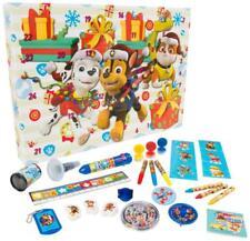 Paw Patrol Xmas Advent Calendar Stickers Stamps Toys Kids Boys Gift Christmas NS