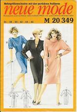 out-of-print:  Neue Mode,  M 20349,  3 dresses, Größen 36 - 42,