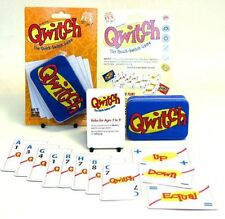 NEW Quitch Card Game - Embossed Tin - Family Games Out Of The Box - Quick Switch
